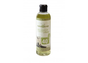 GEL DOUCHE D'ALEP, 250 ml