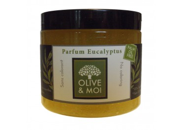 SAVON DU HAMMAM Eucalyptus, Olive & Moi, 200 grs